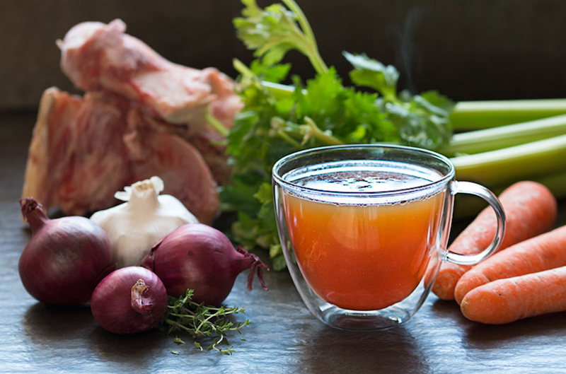 Bone broth in the kitchen recipe