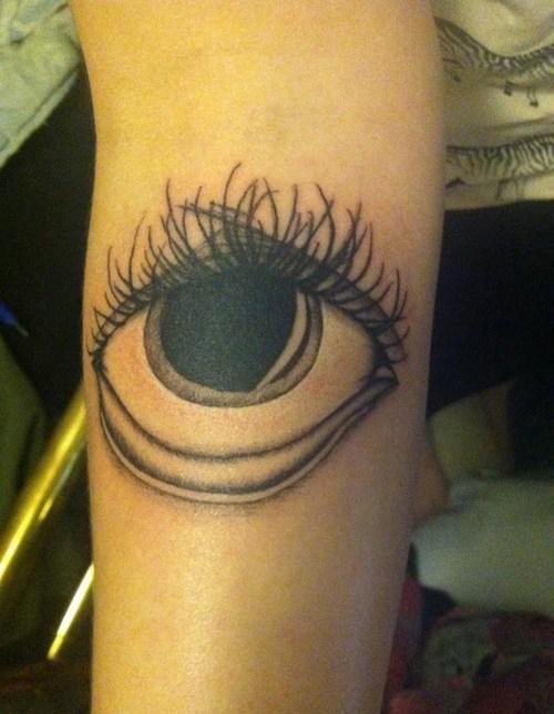 Eyeball tattoo, worst tattoos, bad tattoos funny tattoos ugliest tattoos worst family photos funny stupid people creepy nasty horrible wtf epic fails