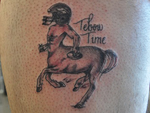 Tim Tebow Tattoos, Tebow Time, Denver Broncos Tattoos Worst Tattoos Ever, Funny Tattoos, Funny Pictures Ugliest Tattoos, Horrible, Stupid Tattoos