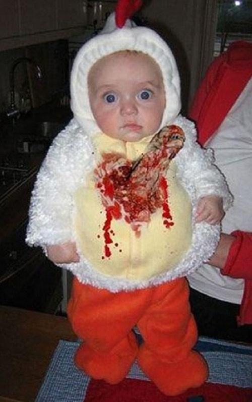 Baby Alien Costume ~Worst Halloween Costumes: 23 Bad, Stupid & Tasteless