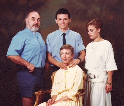 bad family portraits Balls door knocker funny pictures weird pictures pics awkward family photos bad tattoos worst tattoos stupid people bad family photos funny family pics random strange
