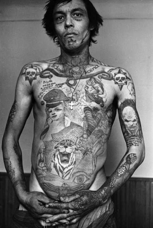 russian prisoner inmate with tattoos bad tattoos terrible awful ugliest tattoos wtf tattoos, horrible awkward family worst tattoos photos crazy people weird people stupid humor redneck humor photobombs
