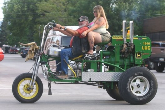 24 of the Best Bad Redneck Cars, Trucks and Boats ~ Funny!! tractor