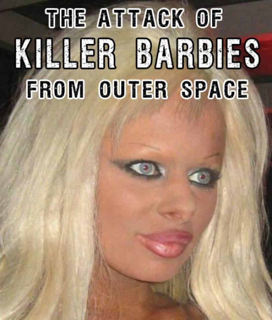 Funny Memes Killer barbies from outer space bad makeup worst makeup Funny Pictures Random Humor Epic Fails worst family photos bad family photos weird worst tattoos bad tattoos stupid people crazy people funny names funny memes animal memes awkward family photos