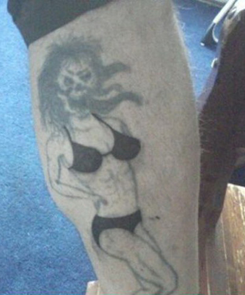 Ugly Woman Monser regrettable bad tattoos terrible awful ugliest tattoos wtf ugly horrible tattoos funny tattoos awkward family america's worst tattoos photos crazy people weird stupid redneck humor