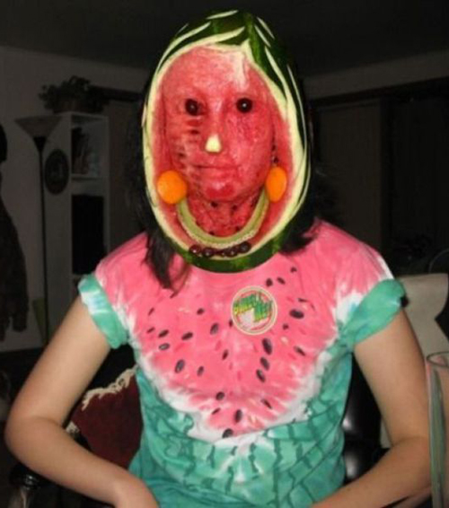 Watermelon Woman Funny Pictures Random Humor Epic Fails worst awkward bad family photos weird worst tattoos bad tattoos stupid crazy people funny names funny memes awkward family photos horrible goofy college pics strange