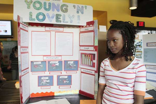 Young'n'Lovely ~ 36 Funny School Science Fair Projects!
