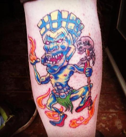 Tiki Bad Tattoos America's Worst Tattoos Regrettable Horrible Awkward Stupid People Regrets Misspelled Nasty Tats WTF Funny