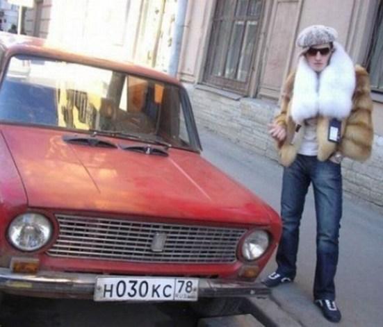 Russian Car Fur Coat ~ 34 Failed Attempts at at Looking Sexy