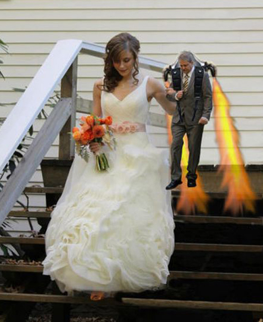 Here Comes The Crazy! 14 More Funny Wedding Pictures