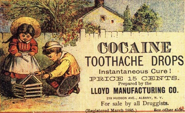 Cocaine Toothache Soother – Strange Weird Vintage Products & Ads – Strange Weird Vintage Products & Ads