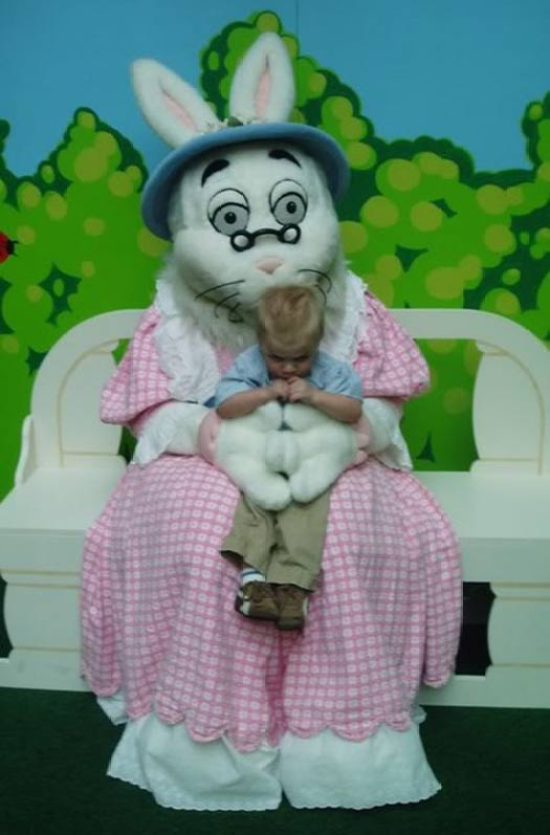 37 Creepy Easter Bunny Pics That Ll Make Ya Fill Your