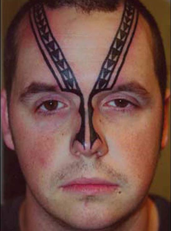 Zipper Face ~~ 15 More of the Worst Tattoos