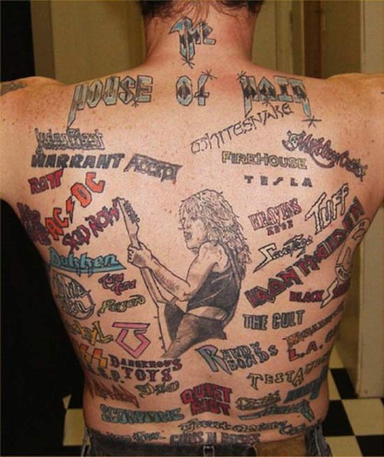 Rock on! ~~ 15 More Bad Tattoos