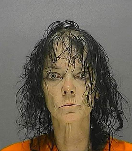 Who needs a rain bonnet? ~ 27 Hilarious Mugshots