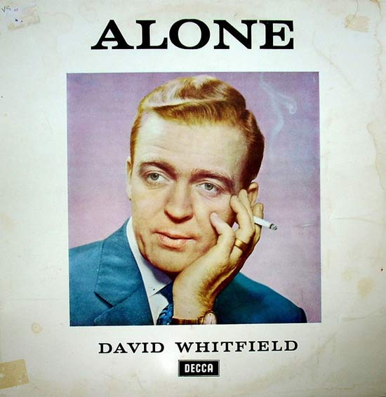 Alone, David Whitfield ~ 20 of the Worst Album Covers