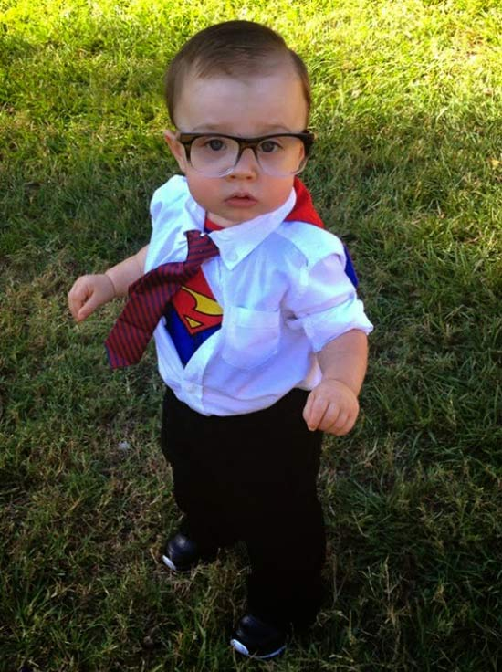 Clark Kent ~ 30 of the Best Kids Halloween Costumes