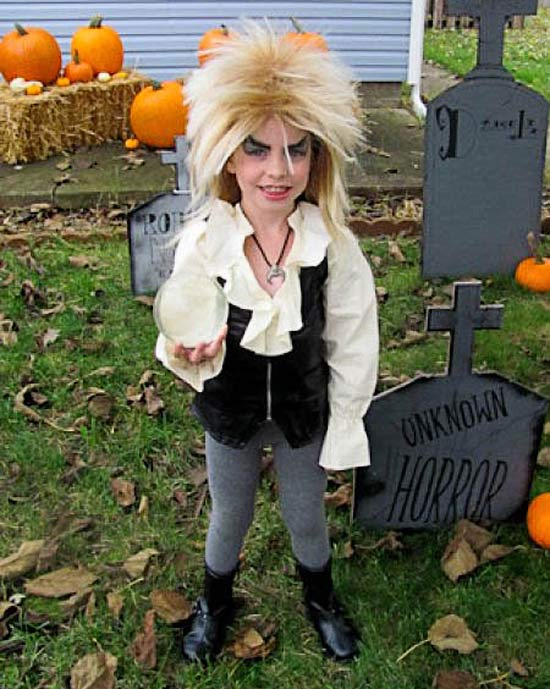 David Boiw, Labyrinth ~ 30 of the Best Kids Halloween Costumes