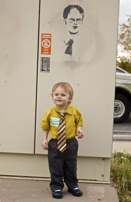 Dwight Schrute ~ 30 of the Best Kids Halloween Costumes