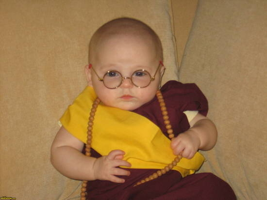 The Dalai Lama ~ 30 of the Best Kids Halloween Costumes