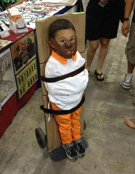 Hannibal Lector ~ 30 Awesome Halloween Costumes for Kids