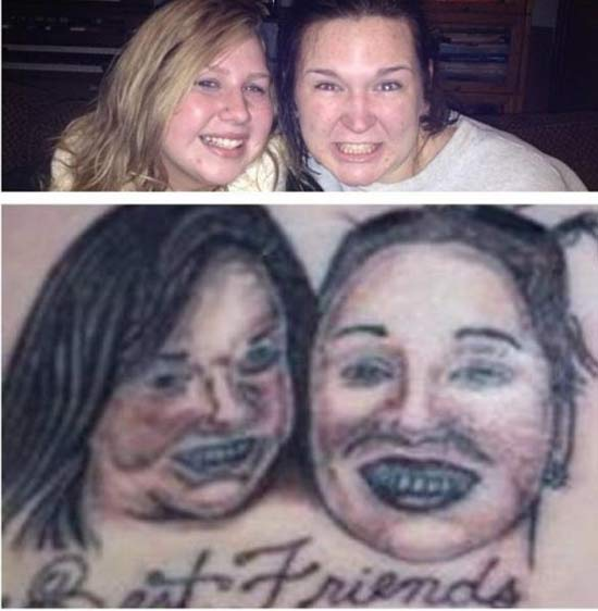 Nailed It! ~ 15 of the Worst Bad Tattoos