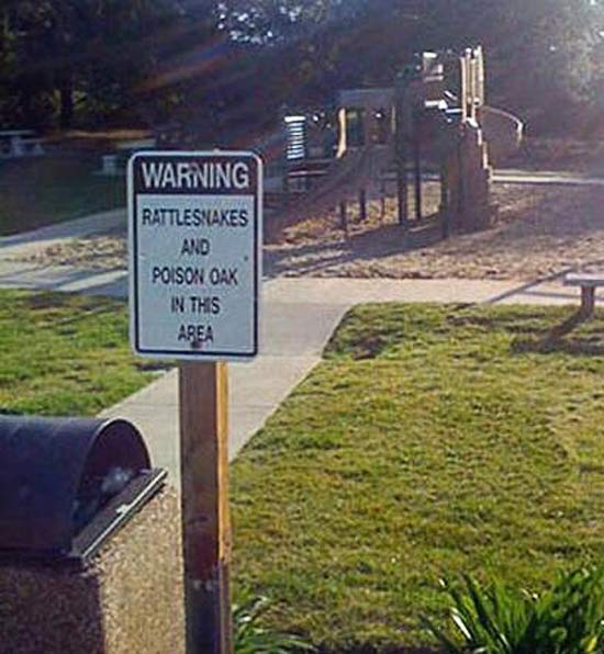 WARNING: 25 More Funny Signs