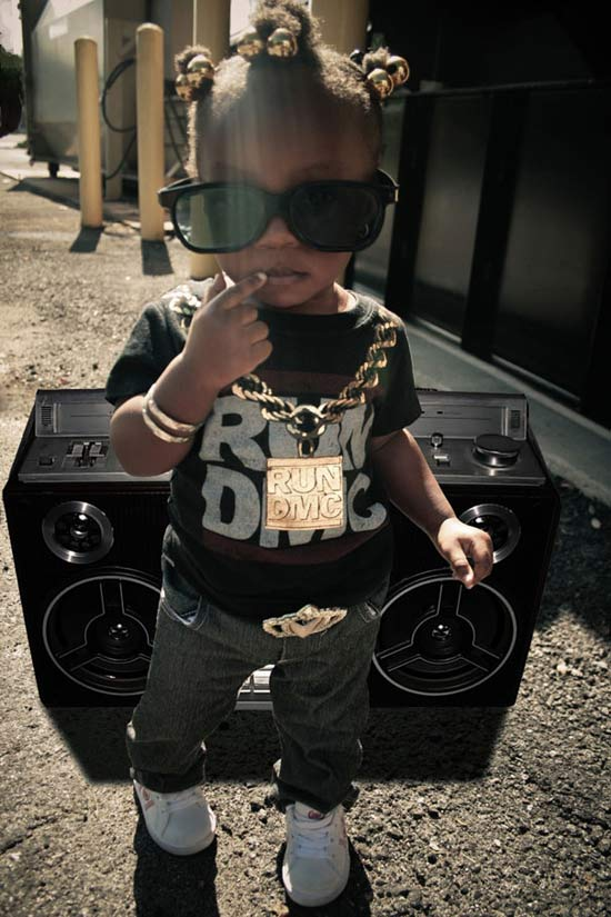RunDMC ~ 30 Great Halloween Costumes for Kids
