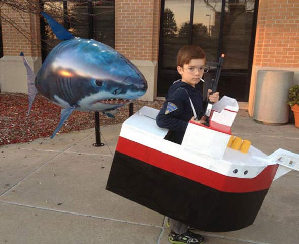 Sheriff Brody, Jaws ~ 30 of the Best Kids Halloween Costumes
