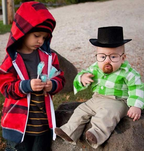 Walter White Breaking bad ~ 30 of the Best Kids Halloween Costumes