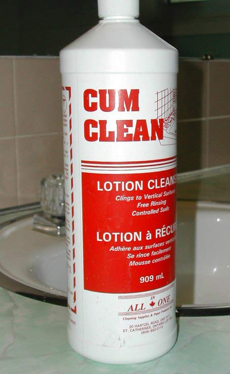 Cum Clean ~ 27 Inappropriate, Funny & Strange Product Names