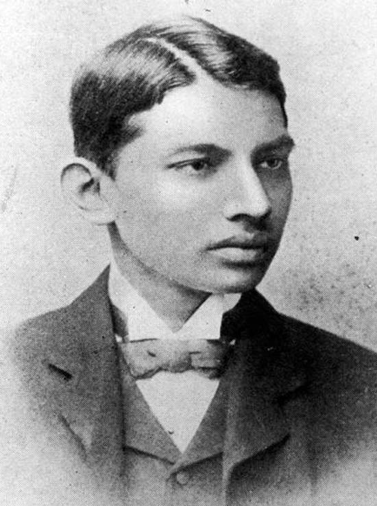 18-year-old Gandhi ~ 28 Rare Historical Photos You Must See
