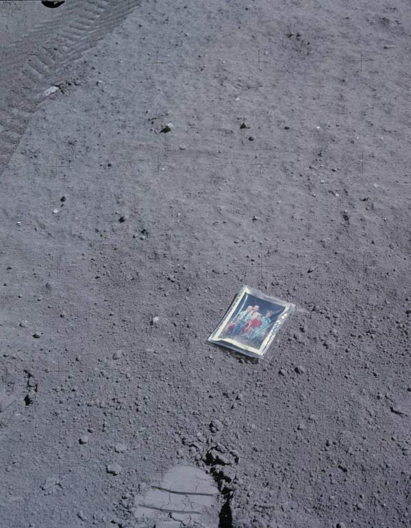 Family Photo on the Moon ~ 28 Rare Historical Photos You Must See