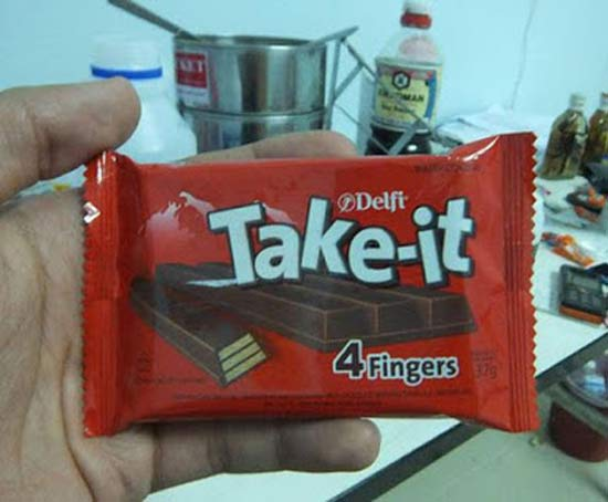 Take It 4 Fingers ~ 27 Inappropriate, Funny & Strange Product Names