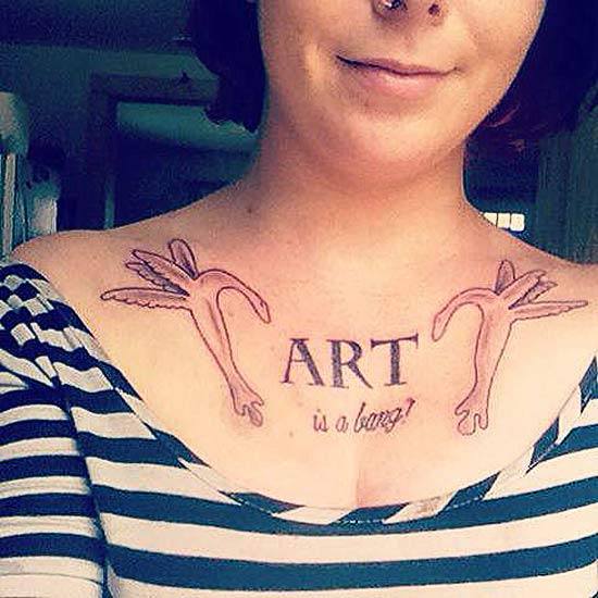 Art is a bang ~ 14 of the Worst Bad Tattoos