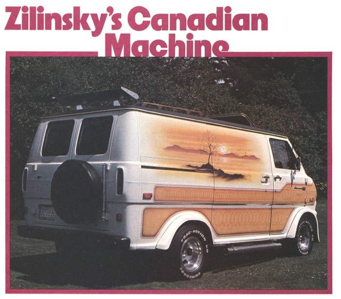1970s Custom Van ~ Zilinsky's Canadian Machine