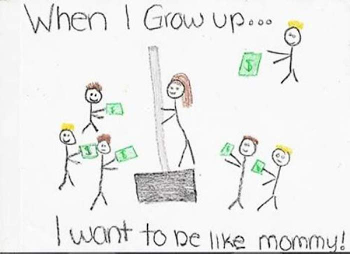 24 Creepy Drawings by Kids ~ Funny or Disturbing? ~ You be the judge