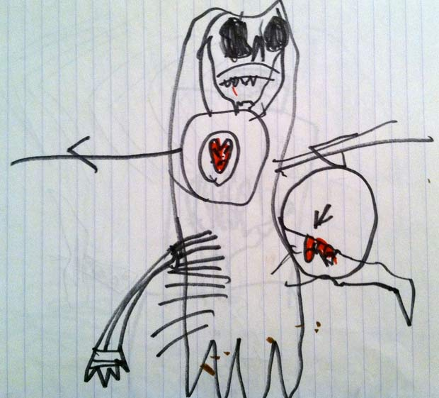 Creepy Drawings By Kids Who May Or May Not Be Disturbed Team Jimmy Joe