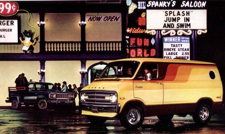 1970s Dodge Custom Van