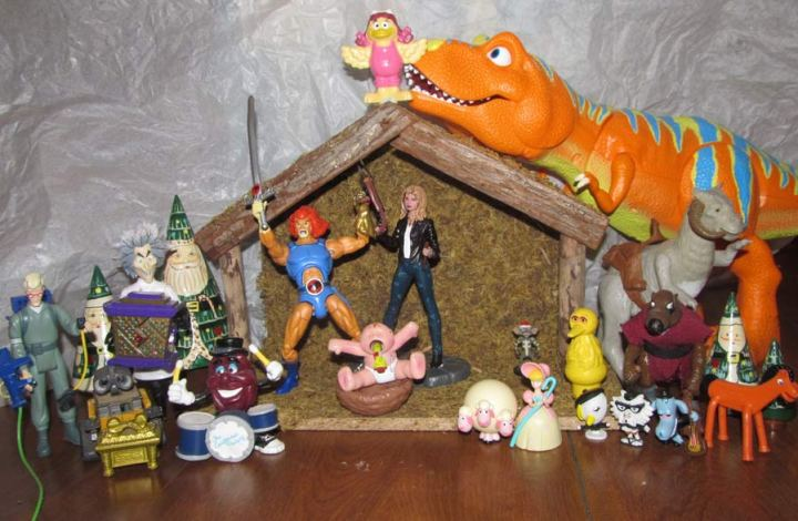Toys Action Figures Nativity Scene