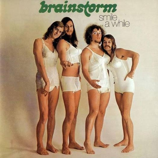 Brainstorm~ Woman's Underwear Girdles ~ Album Cover Art ! The Bad, The Funny The Worst