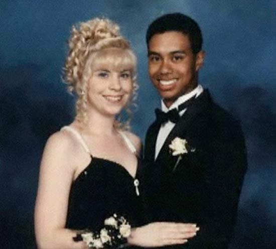 40 celebrity prom pictures ~ Tiger Woods