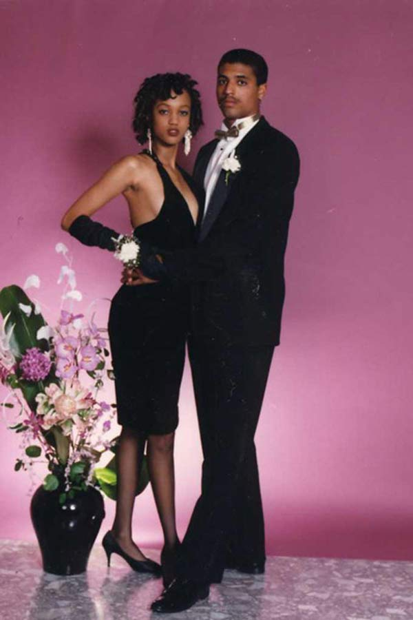 40 celebrity prom pictures ~ Tyra Banks