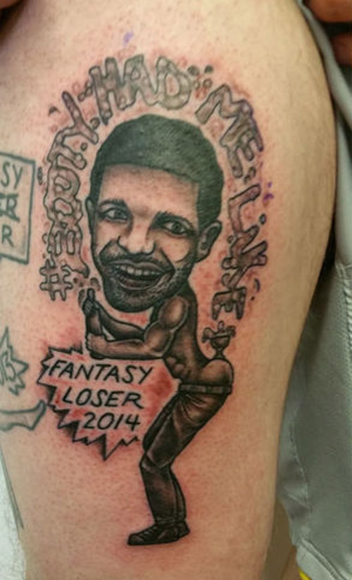 2014 Fantasy Football Loser ~ 15 of the Worst Bad Tattoos