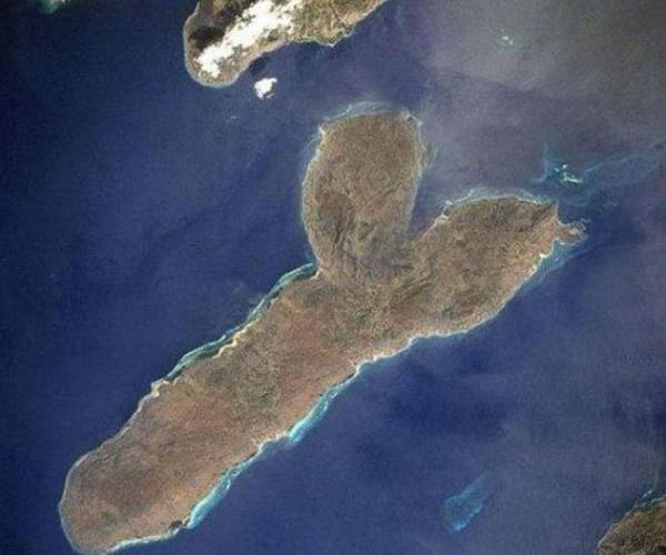 Island Shaped like a penis ~ You have such a dirty mind