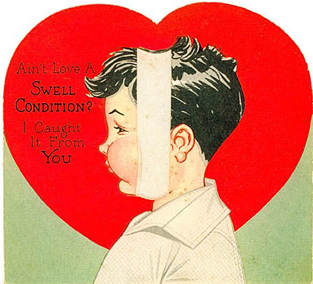 35 of the Creepiest Vintage Valentine's Day Cards Ever!