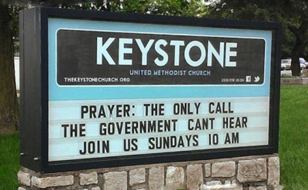 20 Funny Church Signs That Might Send Someone To Hell  Team Jimmy Joe-3851