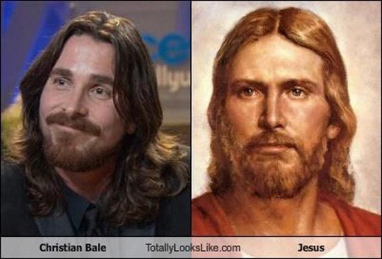 Celebrities that look like Historical Figures ~ Christian Bale Jesus