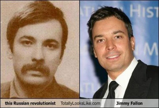 Celebrities that look like Historical Figures ~ jimmy fallon