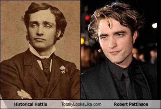 Celebrities that look like Historical Figures ~ Robert Pattinson Historical Hottie
